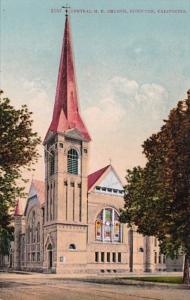 California Stockton Central M E Church