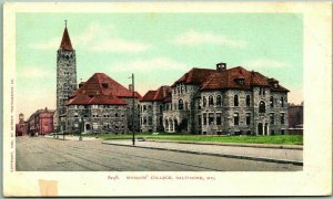 1900s Baltimore, Maryland Postcard WOMANS' COLLEGE Buildings / Campus View