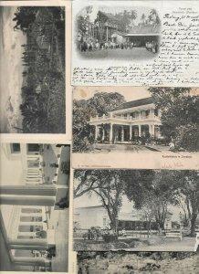 Indonesia - Sumatra Batavia Surabaya And More Postcard Lot of 18 01.11