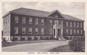 Massachuestts Ayer Hospital Fort Devens Albertype