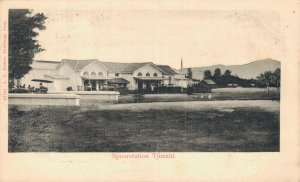 Indonesia - Spoorstation Tjimahi Cimahi Chimahi Railway Station - 04.47