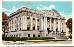 Public Library Fort Wayne Indiana 1929
