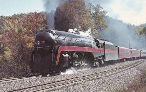 Norfolk & Western's Locomotive Number 611