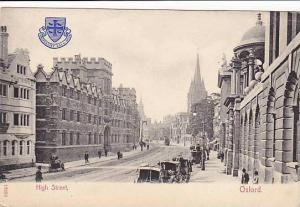High Street, Oxford (Oxfordshire), England, UK, 1900-1910s