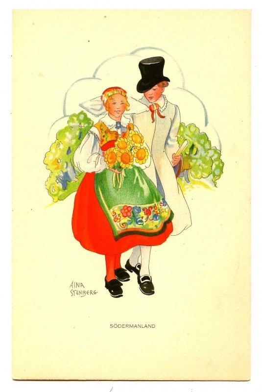 Sweden - Sodermanland Native Costume