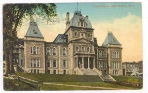 Court House, Sherbrooke, Quebec, Canada, PU-1915