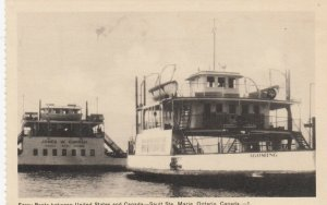 SAULT STE MARIE, Ontario, Canada, 1910-30s ; Ferry Boats