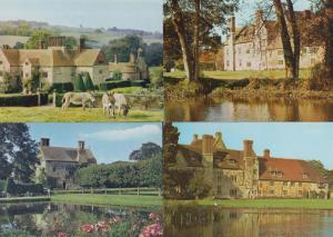 Batemans Burwash Sussex Author Rudyard Kipling Home 4x 1970s Postcard s