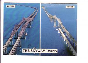 Before and After, Skyway Twins Bridges, Florida, Used 1982