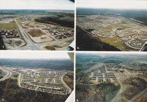 4 Aerial Views, Thickwood Heights, Gregoire Mobile Park, Beaconhill Subdivisi...