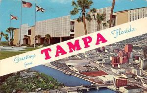 USA Greetings from Tampa Florida University South Florida Downtown Tampa