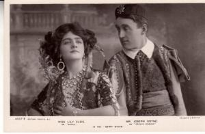 Joseph Coyne and Lily Elsie in Merry Widow
