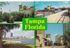 Florida Tampa Skyline Airport & Morew 1981