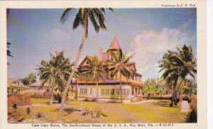 Florida Key West Casa Cayo House Southernmost House In The United States