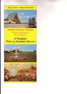 Jewell's Country Gardens, York , Prince Edward Island, Adv...