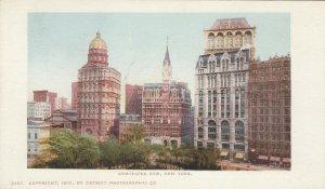 NEW YORK CITY, PMC 1898 ; Newspaper Row