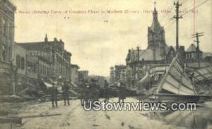 Greatest Flood, March 1913 Dayton OH Unused