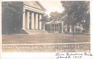 Norwich New York Court House Real Photo Antique Postcard J53079