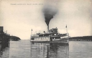 Steamer Aucocisco Ferry Boats Ship Unused