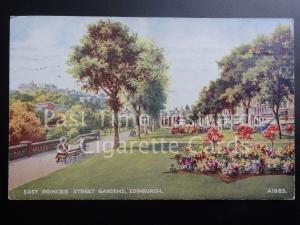 c1952 Edinburgh, East Princes Street Gardens - from original by B F C Parr