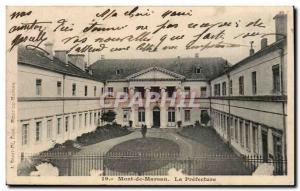 Mont de Marsan Old Postcard The prefecture
