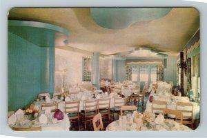 Toledo OH- Ohio, Northwood Inn, Dining Area, Chrome Postcard