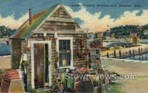 Fisherman's Shack, Bearkin Neck - Rockport, Massachusetts MA