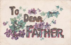 Flowers To Dear FATHER Greetings , 00-10s