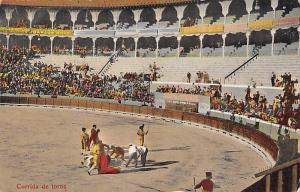 Corrida de Toros Mexico, Bullfighting Postcard Unused