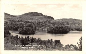 Paradox Lake New York panoramic view Crawford Island real photo pc ZA441319