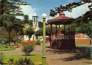 Portugal Acores Ilha do Faial Horta Jardim e Torre do Relogio Postcard