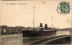 CPA Le Havre- La Touraine, SHIPS (763467)