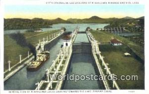 Panama Panama Canal Miraflores Locks
