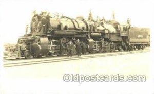 Train, 1909 wear on right top corner tip, postal used 1909