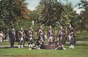 ALDBORO, Ontario, Canada, 00-10s ; Highland band at Old Boys Picnic