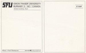BURNABY , B.C. , Canada , 50-60s ; Simon Frasher University