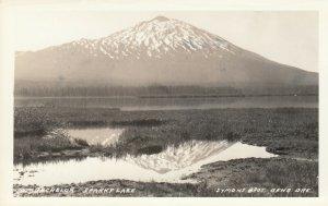RP: BEND , Oregon , 1920-40s ; Mt. Bachelor, Sparks Lake
