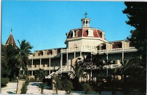 Chrome BUILDING SCENE Key West Florida FL AH8119