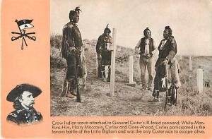 Crow Indian Scouts Under Custer's Command