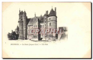 Old Postcard Bourges Jacque Palace Heart