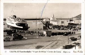 CPA Espagne Ceuta - El Transbordador Virgen de Africa, Correo de Ceuta (282661)