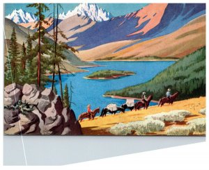 Idaho Union Pacific railroad Card no.6