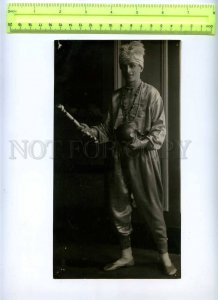 230369 USSR LENINGRAD Circus Ciniselli juggler 1920-year photo