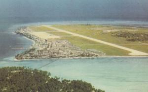 Gan Addu Atoll Maldives Plane Window View Postcard