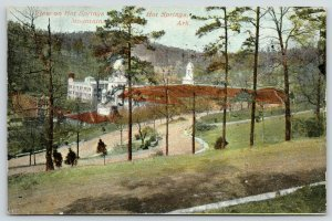 Hot Springs Arkansas~Stew? on Hot Springs Mountain~Nice Place to Pull Over~c1910