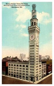Maryland Baltimore ,  Bromo Seltzer Tower