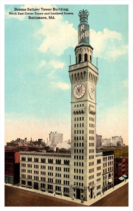 Maryland Baltimore ,  Bromo Seltzer Tower