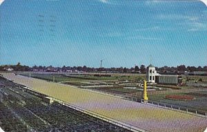 The Track And Centerfield Of Famous Churchill Downs Louisville Kentucky 1950