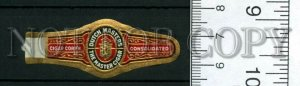 500008 DUTCH MASTERS Vintage embossed cigar label