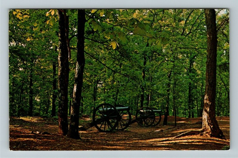 Marietta GA- Georgia, Kennesaw Mt National Battlefield, Vintage Chrome Postcard